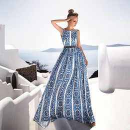 summer night dress for ladies Australia - Fashion Office Lady Maxi Party Club Dresses For Women Solid O Neck Summer Dresses Sleeveless Maxi Long Vestidos Femme T200319