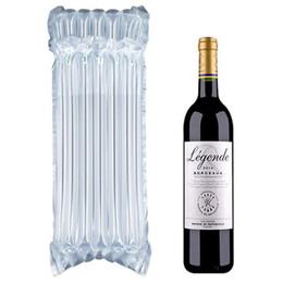 Ingrosso Sacchetto gonfiabile per sacchi in PE Sacchetto gonfiabile imbottito per aria Borsa per bottiglie protettiva imbottita con aria compressa