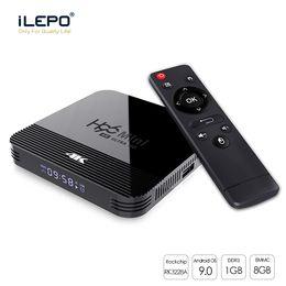 Wholesale hot youtube online – design Hot Android TV Box Rockchip RK3228A h96 mini h8 K Ghz Dual Wifi BT4 Smart TV Set Top Boxs