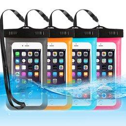 Водонепроницаемый чехол Универсальная водонепроницаемая сумка Чехол на руку для iPhone 7 8 X Сумка для мобильного телефона 3.5-6.5 дюймов на Распродаже