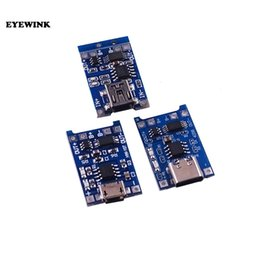 $enCountryForm.capitalKeyWord Australia - 1PCS TP4056 TC4056 Type-c Micro Mini USB 5V 1A 18650 Lithium Battery Charger Module Charging Board Dual Functions Li-ion