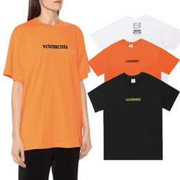 cotton express UK - Spring Summer 2020 Vetements Back Logo Post Priority Mail Express Patch High Quality Tshirt Fashion Men Women T Shirt Casual Cotton Tee