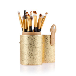 storage makeup brushes Australia - make up brushes Cosmetic Case Portable Storage Makeup Bags Organizer Brush Holder Cup Fashion beauty makeup tools H30312