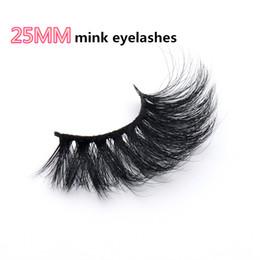 $enCountryForm.capitalKeyWord Australia - JOVO BEAUTY Sexy High Quality Cheap 5D 25mm mink eyelash 1pair lot Long Soft Strips Real mink eyelashes