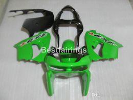 Kawasaki Zx9r 1998 Green Fairing Australia - Hot sale fairing kit for Kawasaki Ninja ZX9R 98 99 green black bodywork fairings set ZX9R 1998 1999 YW10