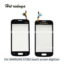 $enCountryForm.capitalKeyWord Australia - For Samsung Galaxy Star Pro S7262 GT-S7262 S7260 Touch Panel Digitizer Sensor Front Glass Panel Replacement Parts