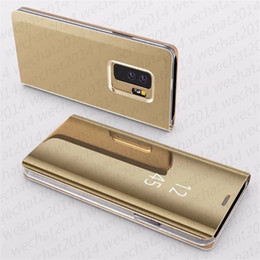 SamSung galaxy e5 flip coverS online shopping - 100PCS Smart Leather Flip Stand Mirror Case Cover forSamsung Galaxy A3 A5 A7 A8 J3 J5 J7 E3 E5 E7 with Package