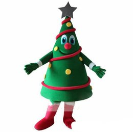 $enCountryForm.capitalKeyWord UK - 2018 Hot sale Green Christmas Tree Mascot Costume Christmas Carnival performance apparel Free Shipping