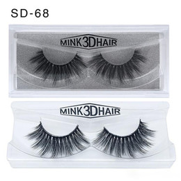 top false eyelashes Canada - HOT lashes mink lashes 3d Mink Eyelashes Eyelash Extensions wholesale false Eyelash Eyelashes mink eyelashes Top quality