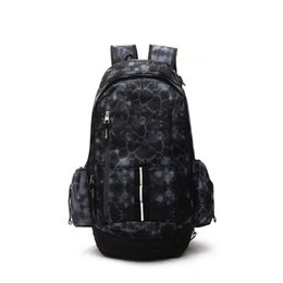 fabric school bags UK - New Basketball Backpacks Sport Backpack Man Backpack Large Capacity Training Women Travel Bags School Bag Shoes Bag