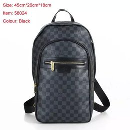 0c1d86d58ae fLOUIS VUITTON MICHAEL Backpack Men Leather Shoulder Bags MICHAEL 04 KOR 1  Travel Bags N58024 Handbag Tote Clutch School Bags Purs 1 LOUIS