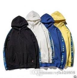Discount discount pullovers - 2Hot sales discount high-quality design wild sleeves ribbon plus velvet hooded sweater Europe and the United States clas