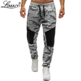 $enCountryForm.capitalKeyWord NZ - LOMAIYI New Stretch Sweatpants Men Camo Jogger Pants Men's Trousers Camouflage Joggers Male Track Pants Mens Sweat BM313