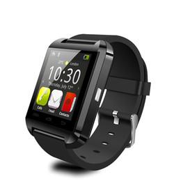 $enCountryForm.capitalKeyWord Australia - U8 smart watch Bluetooth V4.0 wristband Uwatch for IOS Android iphone Samsung Touch Screen Wrist Watch with Camera Pedometer Sleep Monitor