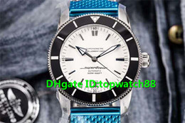 swiss mens luxury watch NZ - GF New Luxury Watch Swiss 9015 Automatic Sapphire Crystal Stainless Steel Ceramic Uni-directional rotating bezel White Dial Mens Watch