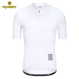 Rapha black jeRsey online shopping - YKYWBIKE Mens Cycling Jersey RAPHA White MTB Jersey Short Sleeve Bike Wear Maillot Ropa Ciclismo Hombre Cycling Clothing In Stock