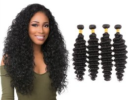 Remy deep wave haiR weave online shopping - VIYA A Grade Deep Wave Hairstyle Human Hair Bundles Weave Unprocessed Vietnamese Hair Extensions