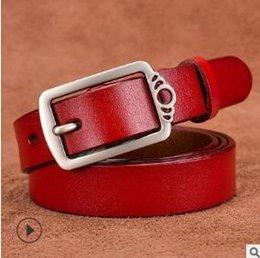 Leather Belt Decorations Australia - New leather belt needle buckle lady leather leather retro belt with Korean edition decoration fashion casual belt wholesale01