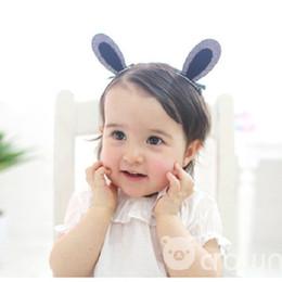 $enCountryForm.capitalKeyWord NZ - 2pcs set Cute Hair Clips For Girls Glitter Rainbow Felt Fabric Flowers Hairpins Cat Ears Bunny Barrettes Kids Hair Accories