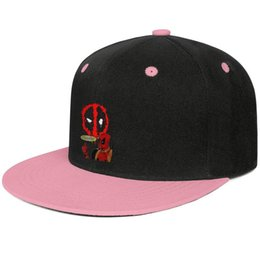Tee Designs NZ - Check Out The chump in the deadpool tee Pink for men and women hip-hop flat brim cap design fitted golf sports fitted personalized best per