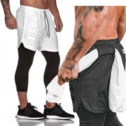 $enCountryForm.capitalKeyWord Australia - Seven Joe Men's 2 in 1 Mens Sports Shorts Quick Drying Training workout Jogging Gym Shorts with Built-in pocket Liner