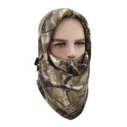 Discount ski mask hats - Ladies Motorcycle Ski Hat Men\'s Outdoor Camouflage Hat Waterproof Headscarf Riding Mask HX03