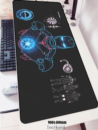 Discount iron games - Iron Man mouse pads hot sales 900x400x2mm gaming mousepad gamer mouse mat pad game computer cute desk padmouse laptop ma