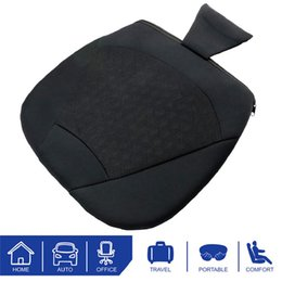 Automotive cAr seAts online shopping - kongyide Car Seat Cushion Automotive Office Elastic Breathable Cushions Are Generally Comfortable Seat Cover Black jy1