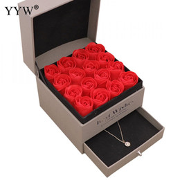 $enCountryForm.capitalKeyWord Australia - Party Wedding Favors Regalos Souvenirs Valentines Soap Rose Gift Box Wedding Gifts For Guests Jewelry Box Gift For Girlfriend