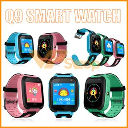 $enCountryForm.capitalKeyWord NZ - Kid Smart Watch Q9 Smart Bracelet Children Smart Watches with Remote Camera LBS SOS Safty Watches SIM Card Slot with Retail Box