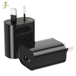 $enCountryForm.capitalKeyWord Australia - 100pcs Single USB Port Insulated AU Plug PHONE charger ADAPTER Output DC 5V 1A Power Adapter for iPhone, iPad,Samsung Mobile Phones Tablets