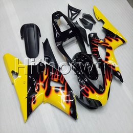 99 yamaha r1 Canada - Gifts+Screws yellow motorcycle cover for Yamaha YZF-R1 98 99 YZFR1 1998 1999 ABS Plastic Fairing