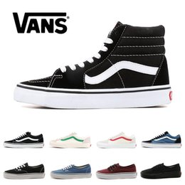 Open tOes shOe online shopping - 2020 Designer shoes Original Van old skool MIx Checker REPEAT FEAR OF GOD CHECKERBOARD canvas mens sport sneakers fashion casual size
