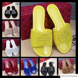 $enCountryForm.capitalKeyWord Australia - Cheap Flip Flops Time Designers Beach Slippers Thong Summer Flats Slides Waterproofing Sandals Shoes For Lady