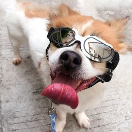 $enCountryForm.capitalKeyWord Australia - Creative Pet Dog Sunglasses Fashion Teddy Puppy Ski Goggles Pet Accessories Cute Cat Protecting Eye Cool Pet Supplies