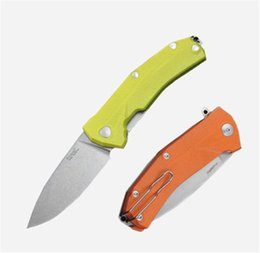 knives italy 2019 - 4 Styles Italy LionSteel KUR Sleipner 60HRC Stonewash Blade Folding Knife Titanium alloy Clip Pocket EDC Tactical Campin