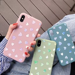 Love Iphone Australia - Cartoon Pig Couple Love Heart Shape Soft Tpu Beautiful Simple Full Protective Back Cover Phone Cases For iPhone X XR XS MAX