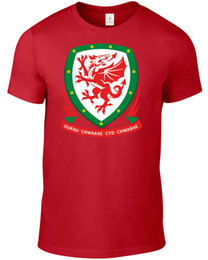 plus size funny t shirts Australia - WALES WORLD CUP 2018 T SHIRT FOOTBALL SOCCER PLUS SIZES S-5XL TEE F34 Funny free shipping Unisex Casual