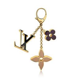 $enCountryForm.capitalKeyWord Australia - M67119 Fleur De Bag Charm New Key Holders And More Leather Bracelets Chromatic Bag Charm And Key Holder Scarves Belts