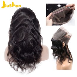 China 360 Lace Frontal With Hair Bundles Body Wave Brazilian Human Hair Peruvian Indian Malaysian Human Hair Weaves Closure cheap front closure lace wig suppliers