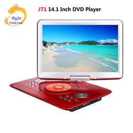 DVD player portable TV 14.1 inch 1280x800 HD digital LED Long battery life With Receiving television signals and U Drive Play on Sale