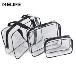 frames for handbags 2019 - MELIFE 3 pcs Sports Bag Waterproof Swimming bags organizer tidy clothes classification for women's Sport folding dr
