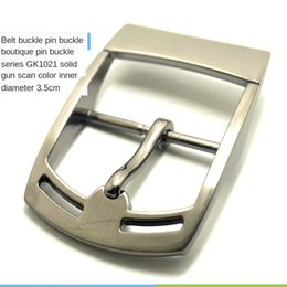 clothes button buckles UK - Guangzhou Guangzhou button men's low price Japanese men's clothing buckle zinc alloy trousers belt low price Japanese buckle