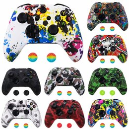 xbox joypad UK - ezoSu Silicone Soft Rubber Protective Gamepad Joypad Protector Case For Body Xbox 360 xbox360 Controller Microsoft Cover Skin Shell
