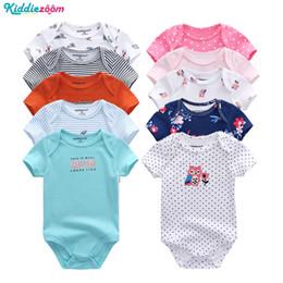 $enCountryForm.capitalKeyWord Australia - Boys Summer Clothes Set Rompers Cotton Short Sheeve Roupa de bebe Baby Boy Clothes Bodysuit Set 0-12 Month Infant Girl