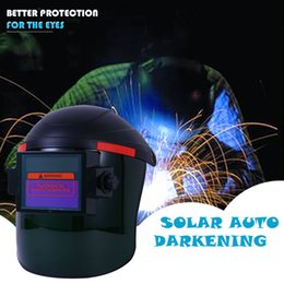 solar auto welding mask 2019 - 2019 The New Fashion Pro Solar Auto Darkening Welding Helmet Mask Grinding Welder Protective Gear July 17 P30 cheap sola