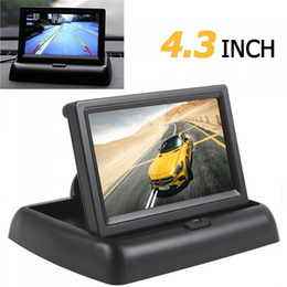 $enCountryForm.capitalKeyWord NZ - Freeshipping CAR HORIZON 4.3 Inch TFT LCD HD 480 x 272 Resolution Car Rearview Reverse Car Monitor For Parking with 2-Channel Video Input