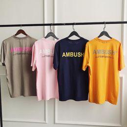 22 Shirt Australia - AMBUSH t shirt brand ambush Private custom mens t shirts designer shirt men summer Cotton Comfortable tshirt classic Selling fashion tees 22