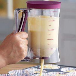 $enCountryForm.capitalKeyWord Australia - BAKE Baking Tool Cake Dough Dispenser Cupcake Funnel Batter Dispenser Valve Measuring Cup Mix Measuring kitchen tool