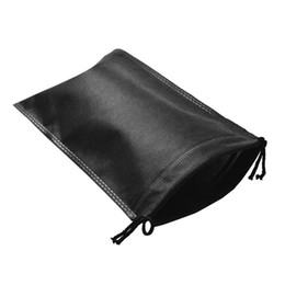 breathable storage bags NZ - Colorful Rectangle Drawstring Bag Non Woven Fabric Shoes Clothes Dust Proof Storage Bags Breathable Pouch Hot Sale 0 9ss5 B